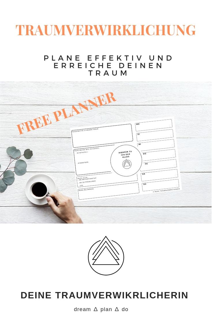 Freebie Wochenplaner Planner