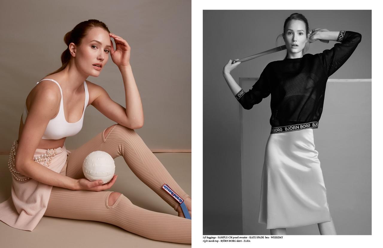 Model Lena Samuels