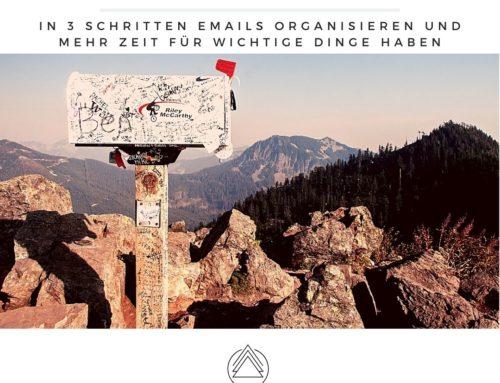 Emails organisieren